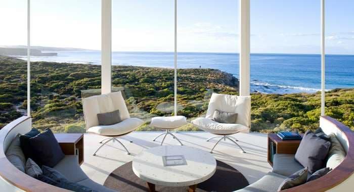Southern Ocean Lodge Osprey Pavilion Lounge
