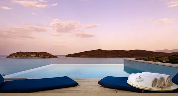 Blue Palace Resort and Spa Private Infinity Pool