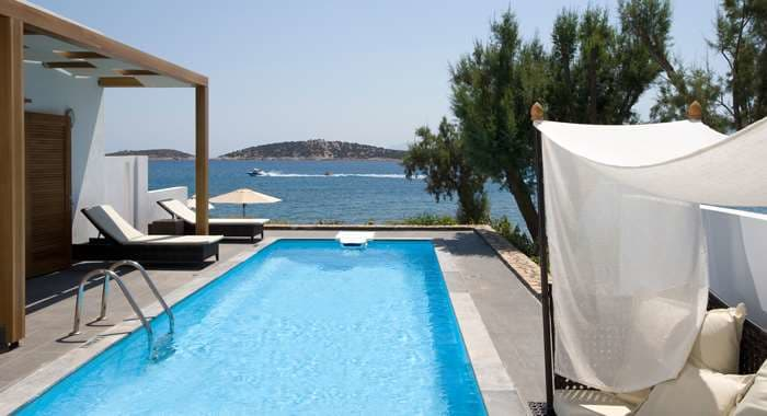Minos Beach Art Hotel Villa with Pool