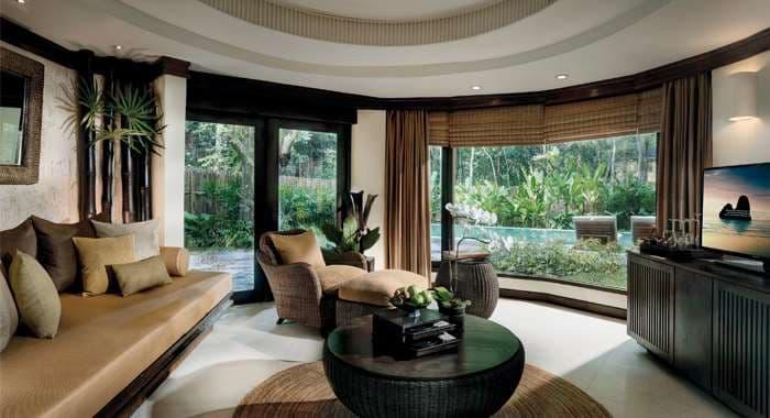 Rayavadee Pool Pavilion Living Room