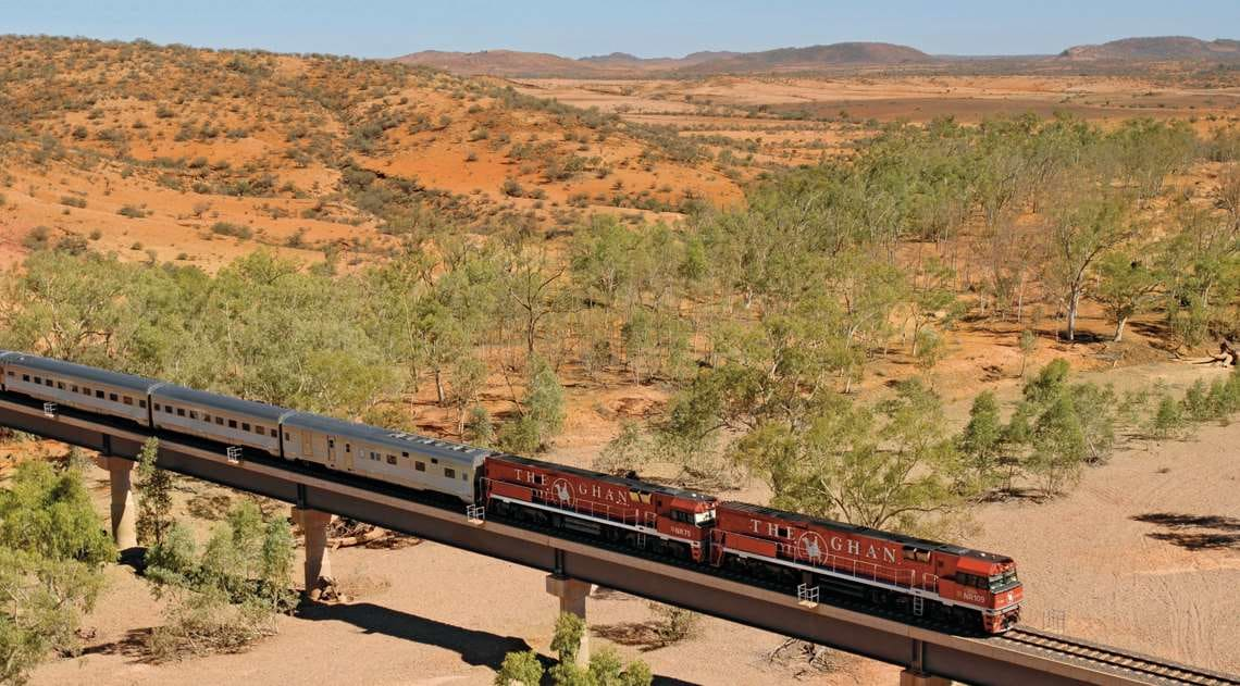 The Ghan Expedition Desert Landscape