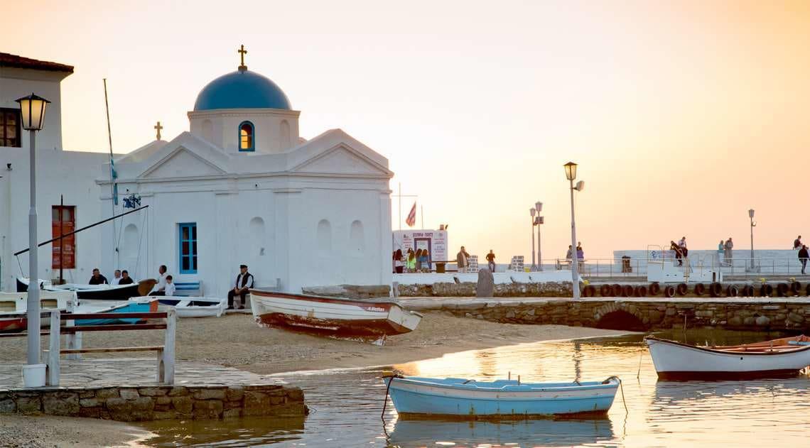 Mykonos Grace Dock