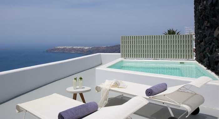 Grace Santorini VIP Suite Terrace