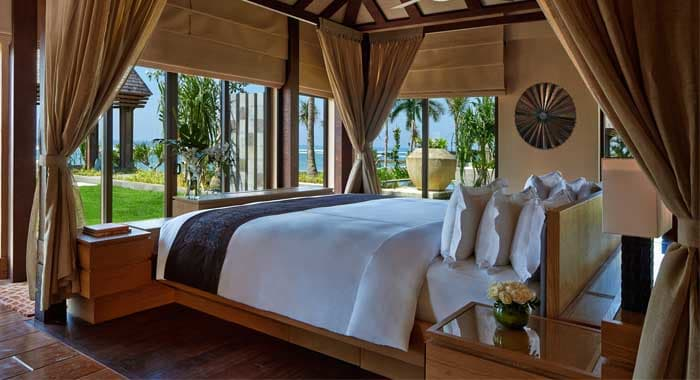Oceanfront Villa Bedroom