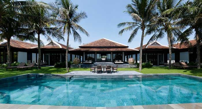 The Nam Hai 4 bedroom pool villa