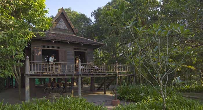 Amansara Khmer Village House