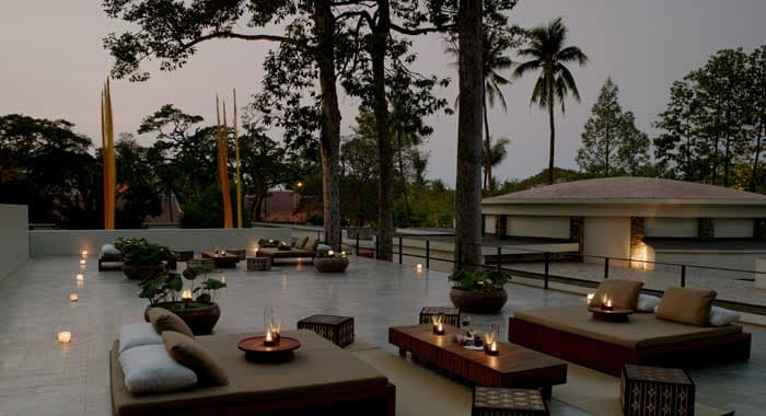 Amansara roof terrace