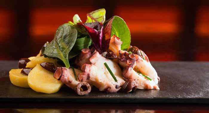 Octopus Salad Potatoes