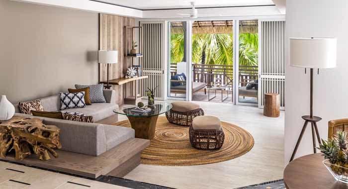 Frangipani Suite Living Area