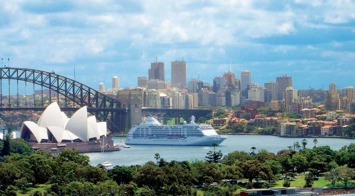 Regent Seven Seas in Sydney