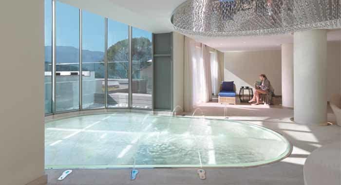 Reflecting pool at Jumeirah Port Soller