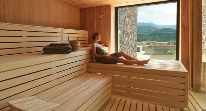 Spa Sauna at Jumeirah Port Soller