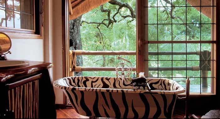 Ulusaba Safari Lodge room - bathroom