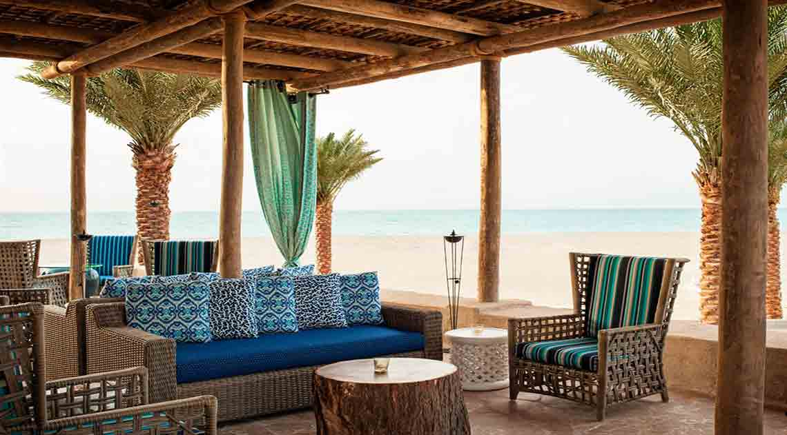 Turquoiz Beach Restaurant and Lounge, St Regis Saadiyat Island Resort