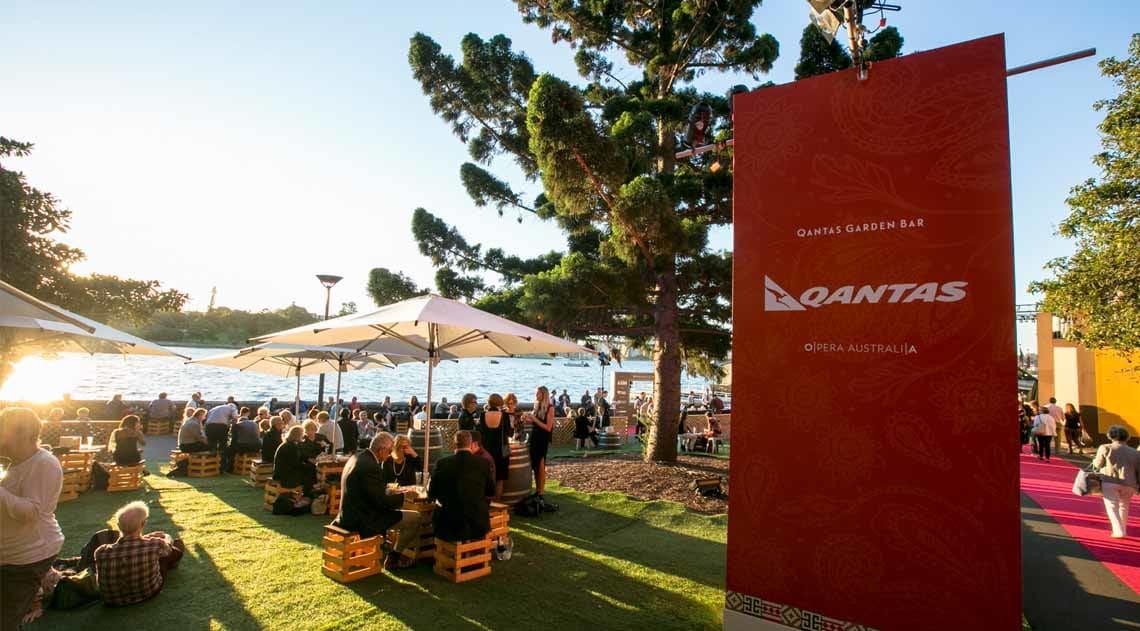 Garden bar at Opera on Sydney Harbour