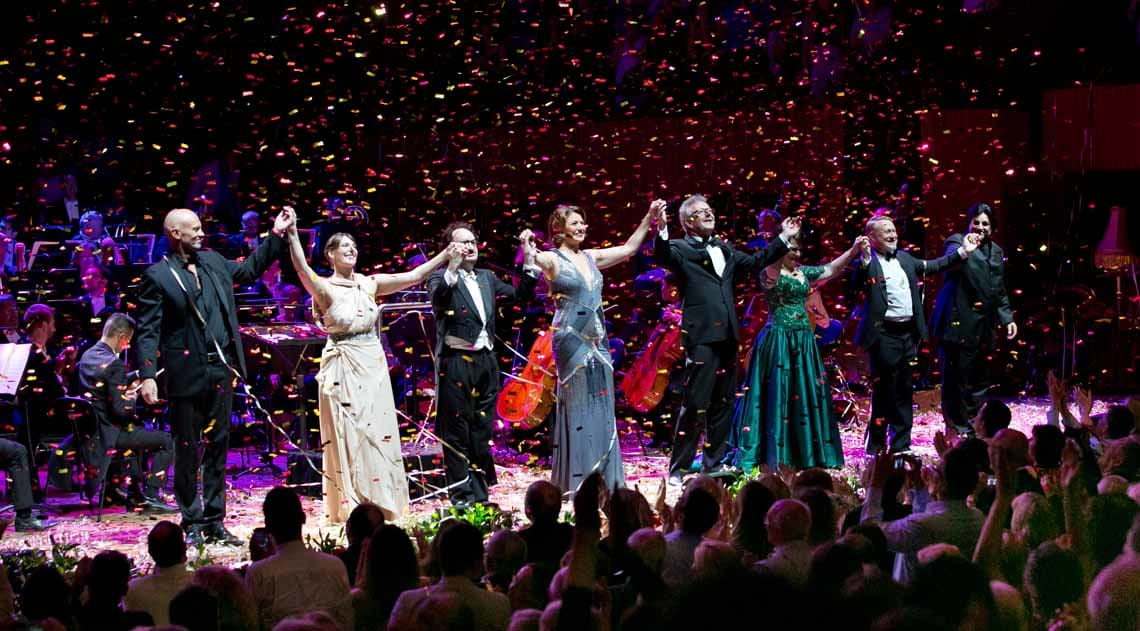 New Year's Eve performance at Sydney Opera House