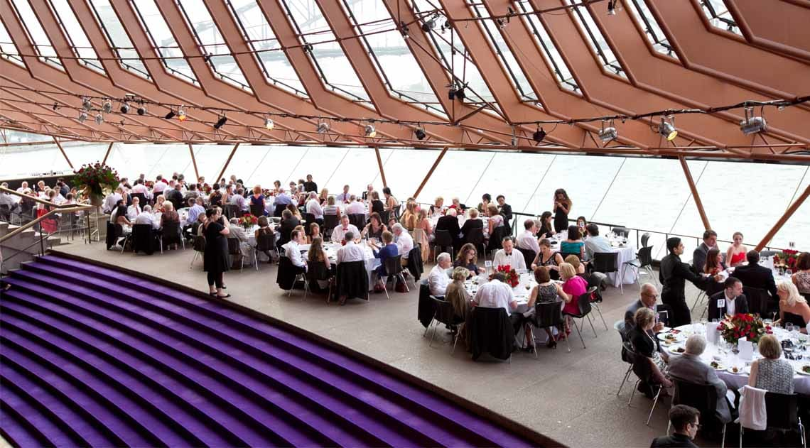 Optional Pre-Performance Dinner on New Year's Eve at the Sydney Opera House
