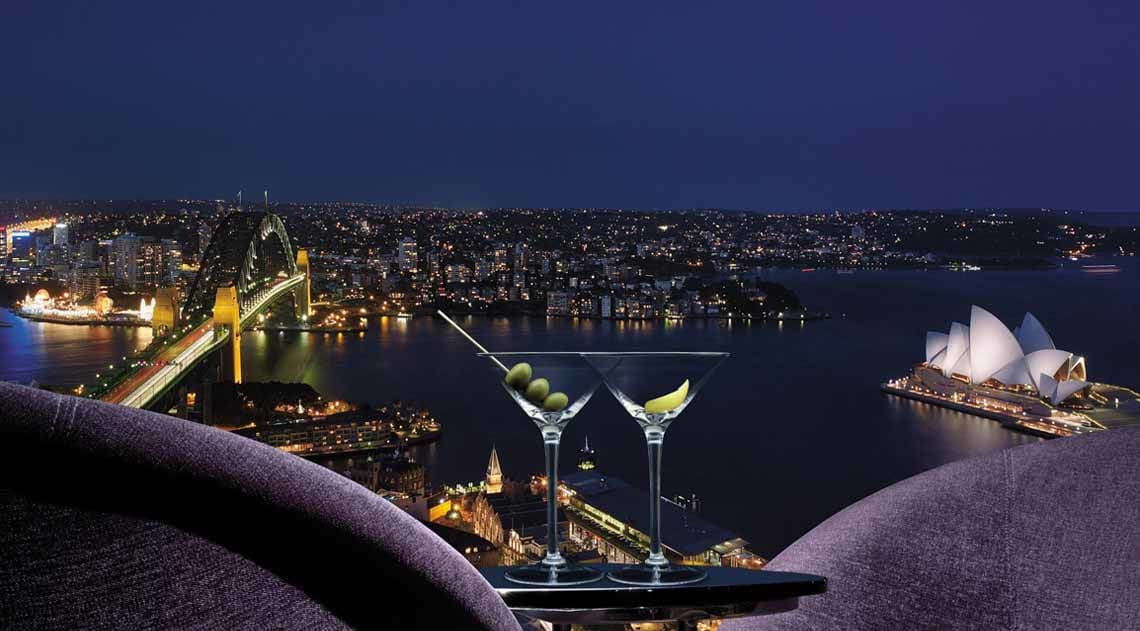 Blu Bar at Shangri-La Hotel Sydney