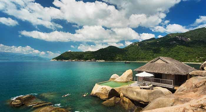 Water Villa at Six Senses Ninh Van Bay