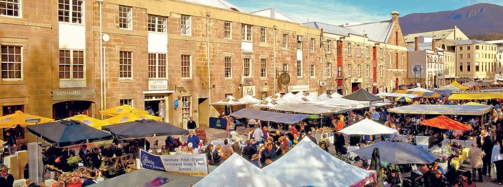 Salamanca Market, Tasmania