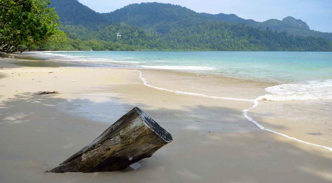 A Langkawi beach