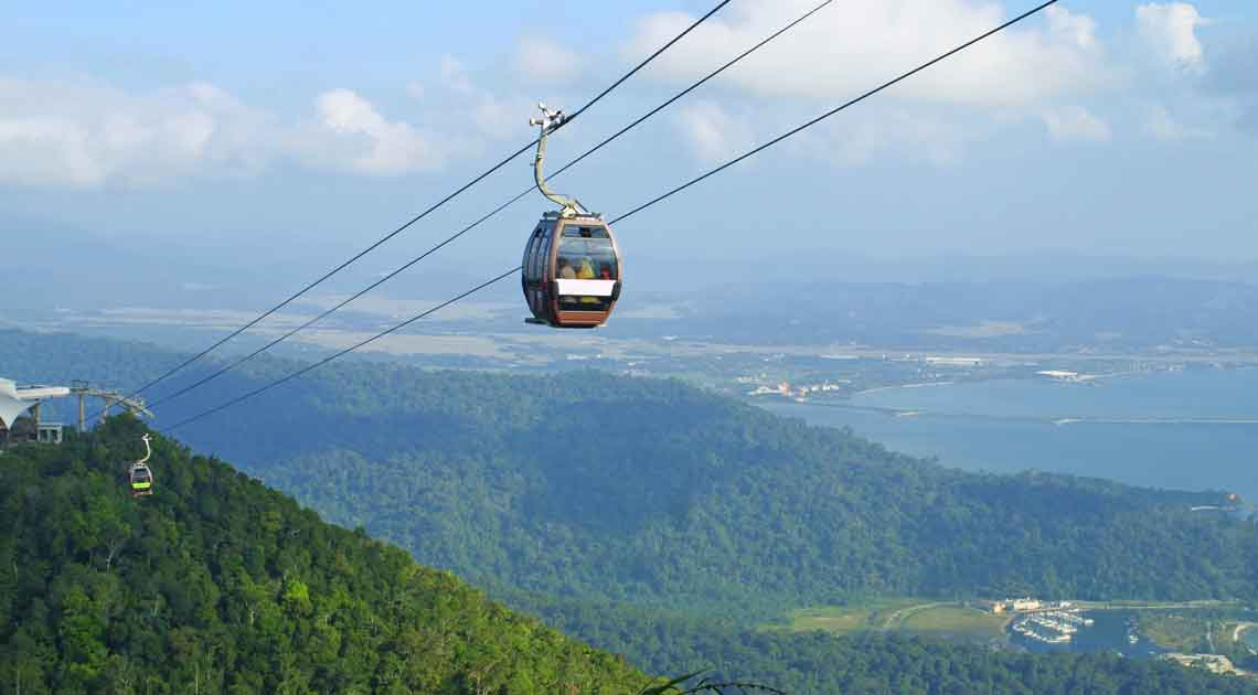 Langkawi hill cable car