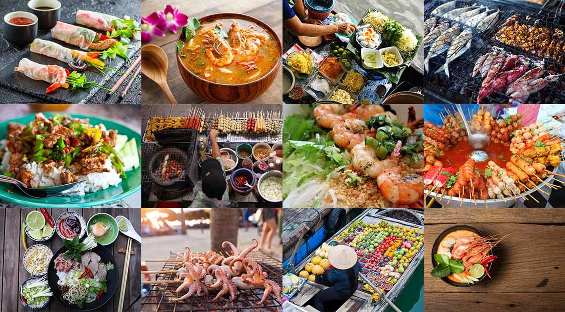 The best of Thai and Vietnanmese food