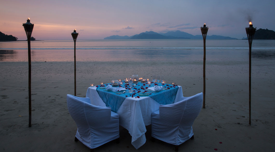 Special dining at The Datai Langkawi