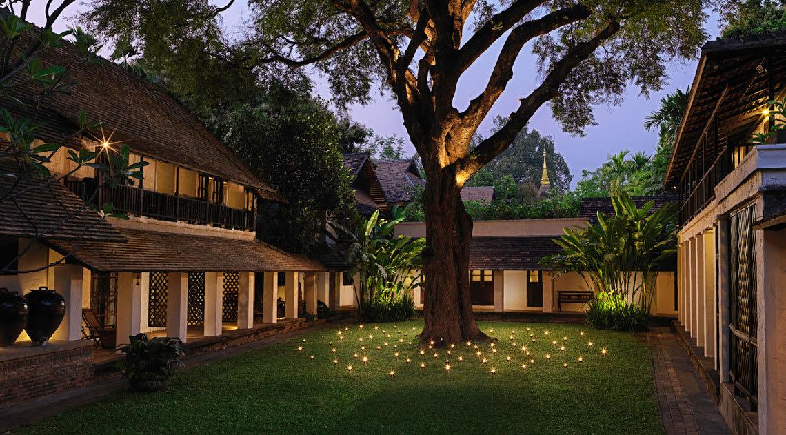 Peaceful Courtyard of Tamarind Village
