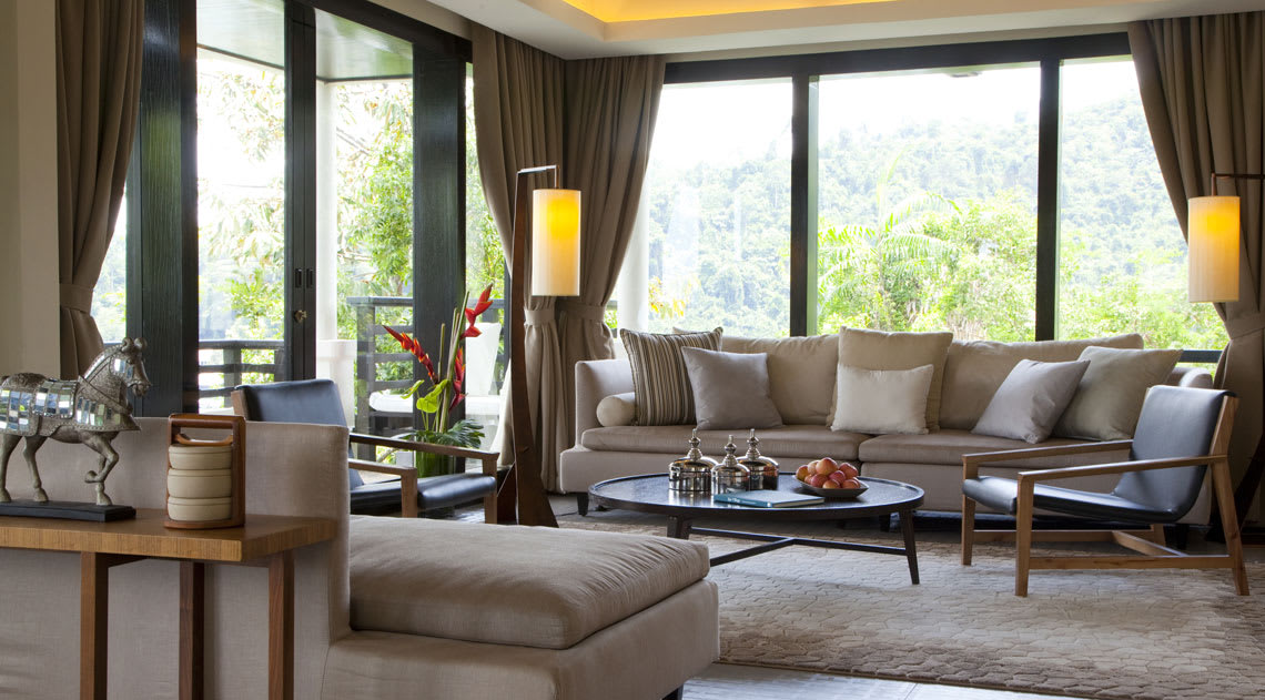 Suria Suite living area