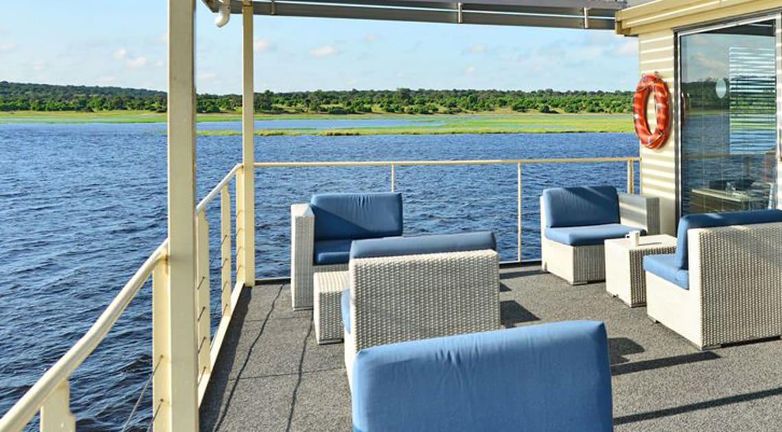 Zambezi Queen Aft Deck