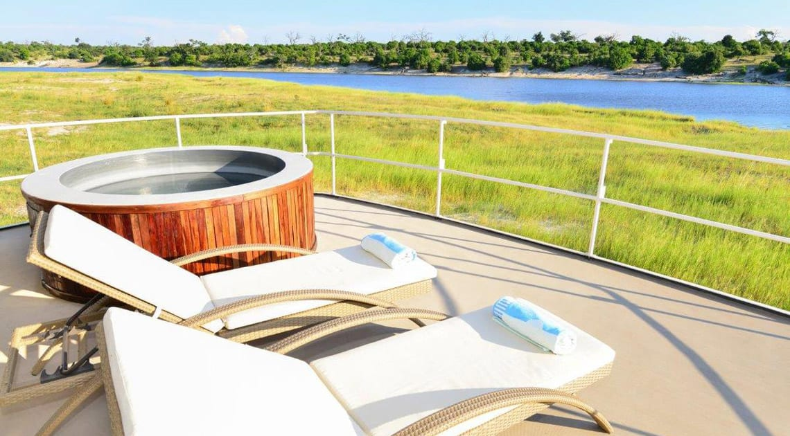 Chobe Princess Viewing Deck Jacuzzi