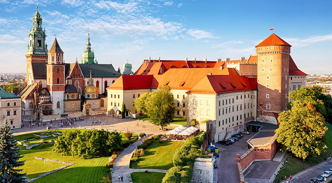 Krakow with Wawel Royal Castle