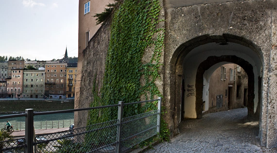 Steingasse Lane – a medieval alley in the city centre