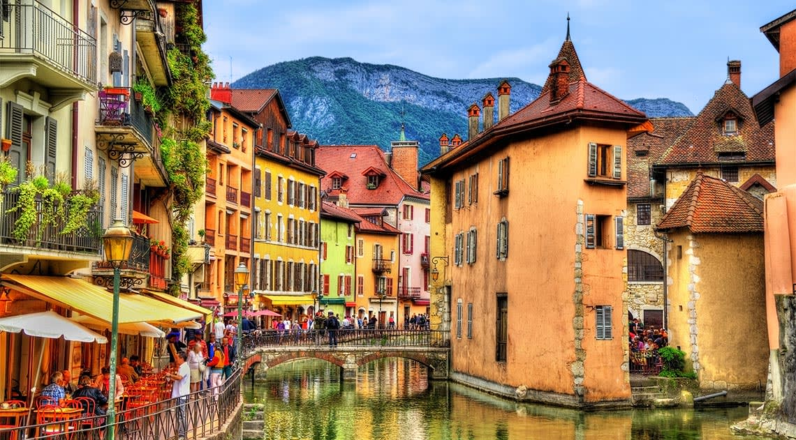 Annecy's Old Town