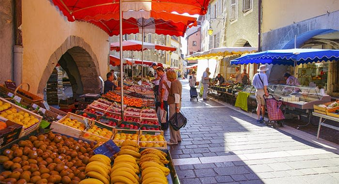 Traditional Street Market