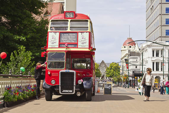Christchurch bus