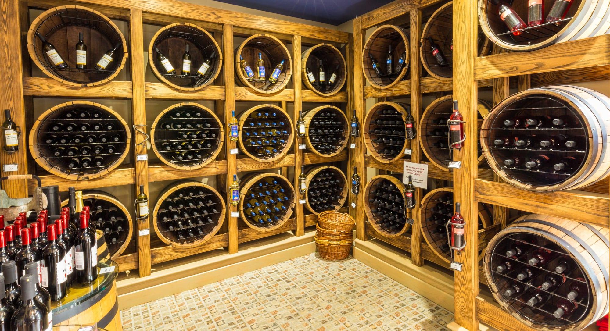 Wine shop Nova Scotia