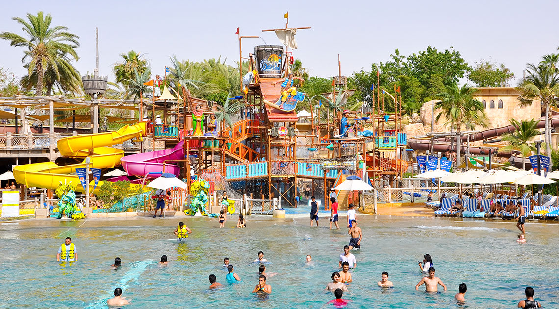Wild Wadi Waterpark fun