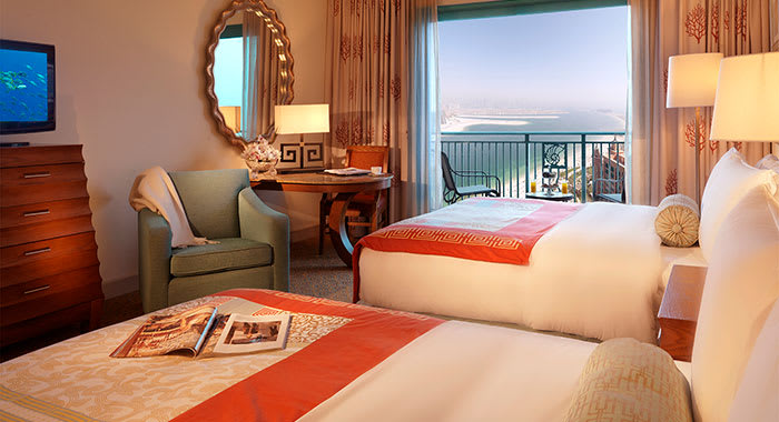 Suite with balcony at Atlantis the Palm