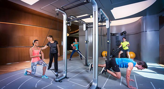 Fitness training at ARTIS