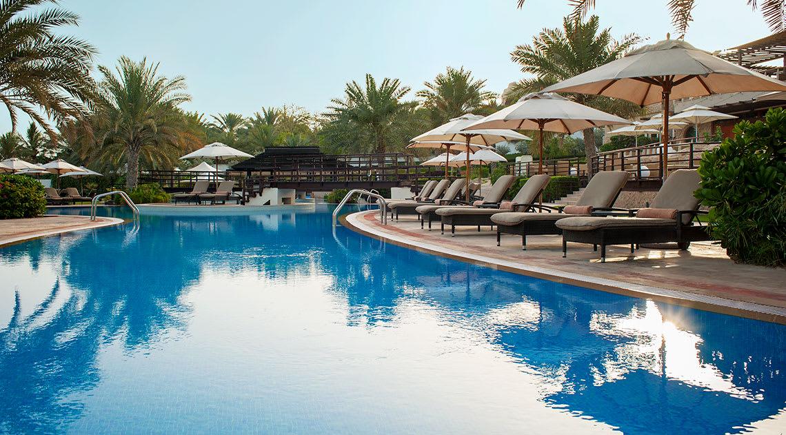 Pool at Westin Dubai Mina Seyahi Beach Resort & Marina