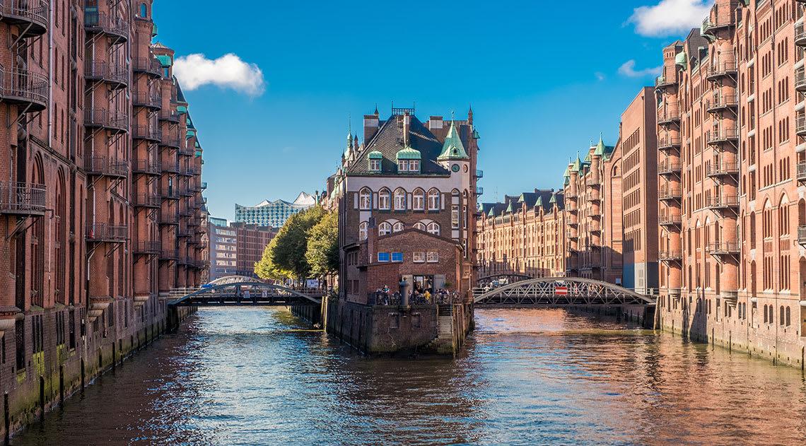 Canals of Hamburg