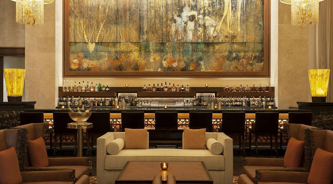 The bar at St. Regis Saadiyat Island