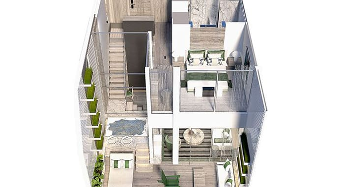 Edge Villa floorplan
