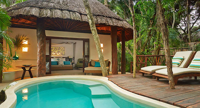 Villa with provate swimming pool in Mexico