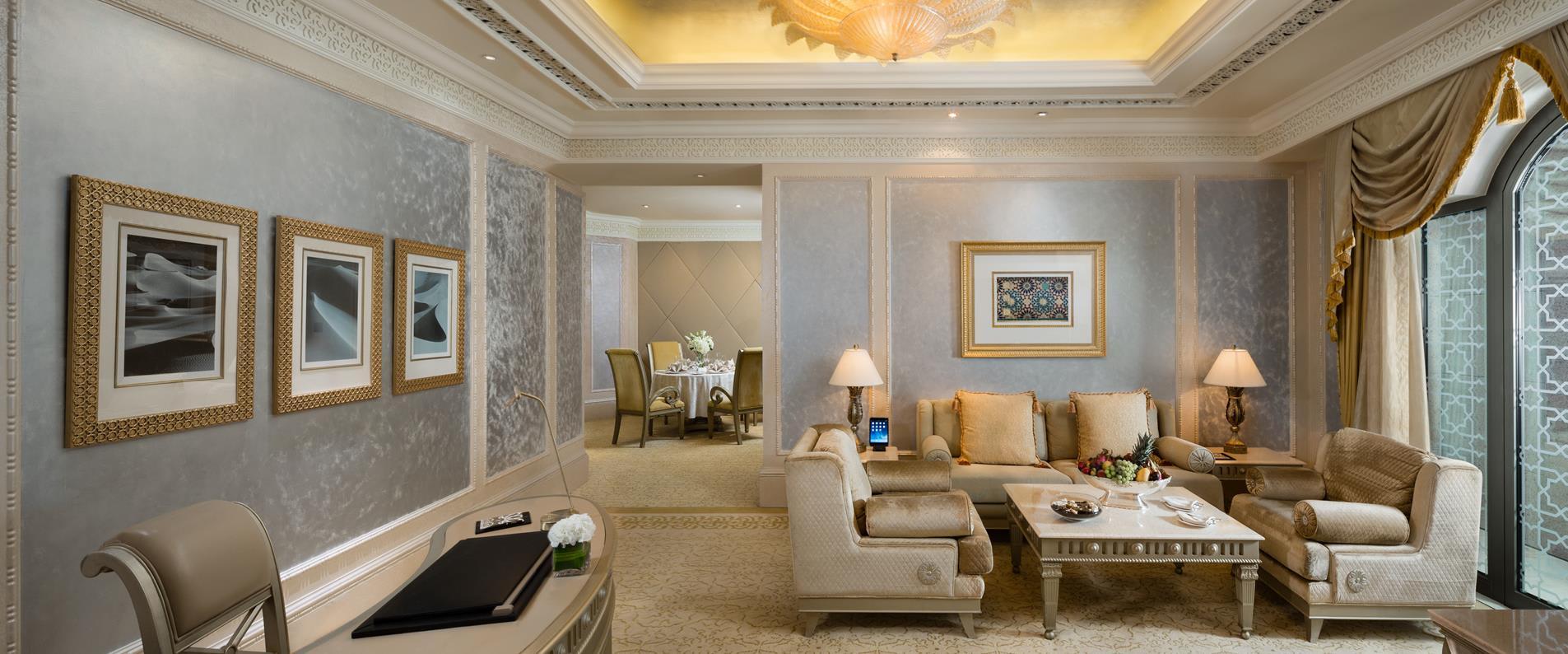 Khaleej Deluxe Suite living