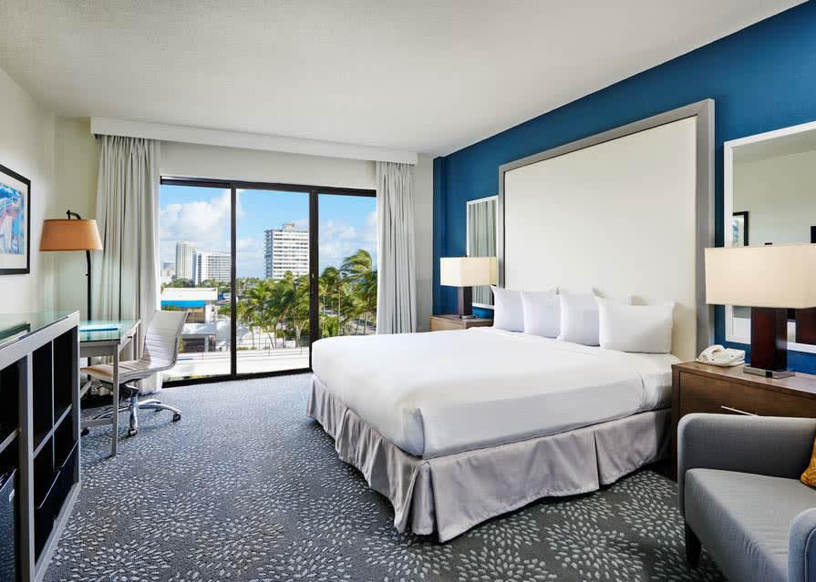 One King Bed Bahia Mar Standard