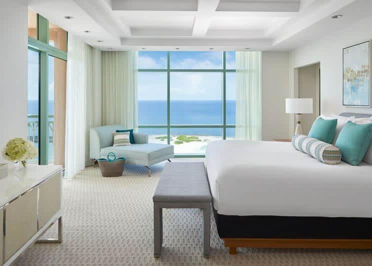 Sapphire Suite bedroom