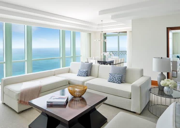 Sapphire Suite living